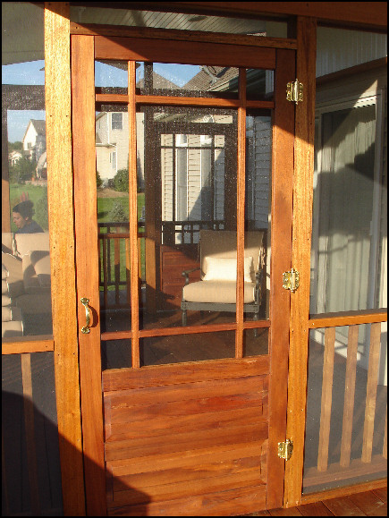 Ipe Cedar Deck Screen Room Porch Pergola Hillsborough