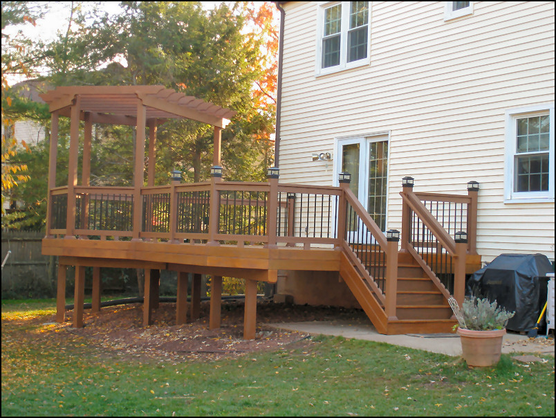 Pressure Treated Timbertech Builder S Rail Deckorators