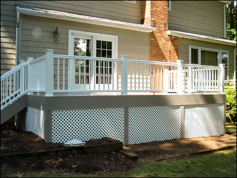 Chatham Nj Azek Deck With Timbertech Radiance Rail