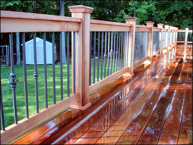 Warren Nj Ipe Decks With Deckorators Baluster Railing