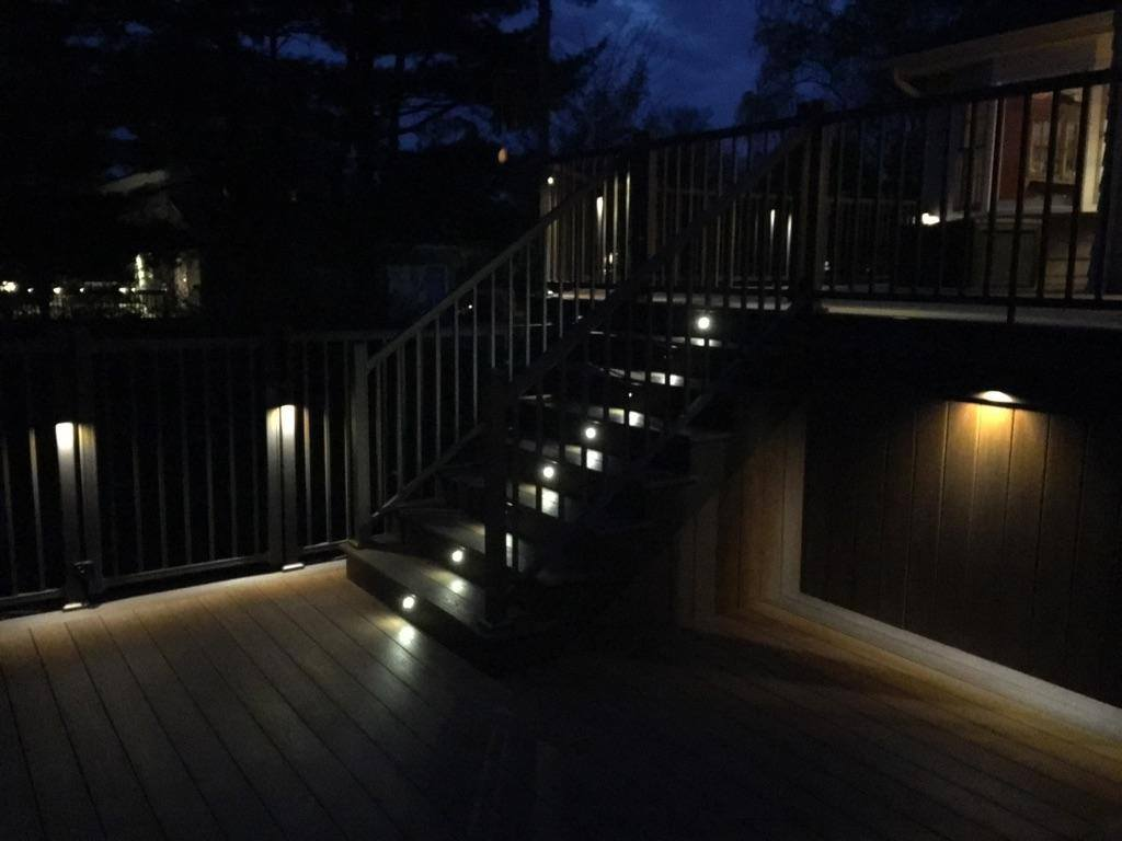 deck floor lighting. Let Deck Pros Light Up Your Night! We Offer A Wide Variety Of LED Low Voltage Products For Outdoor Lighting Needs. Floor I